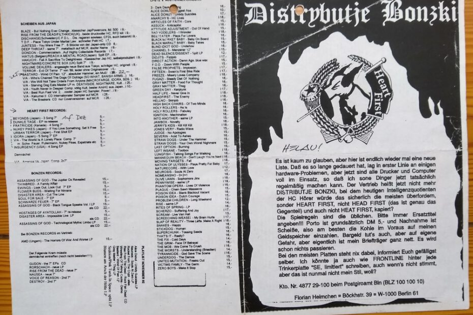 Old mailorder flyer